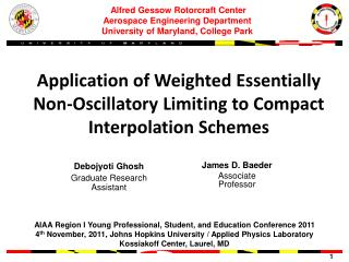 Application of Weighted Essentially Non-Oscillatory Limiting to Compact Interpolation Schemes