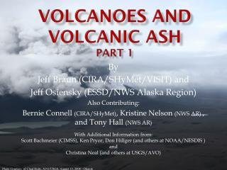 Volcanoes and volcanic ash Part 1