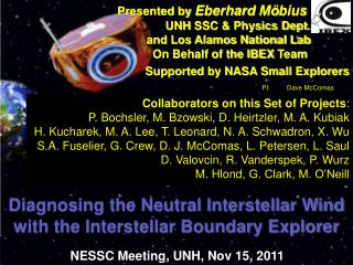 Diagnosing the Neutral Interstellar Wind with the Interstellar Boundary Explorer