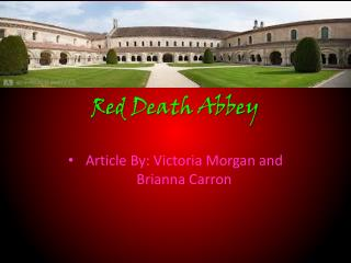 Red Death Abbey
