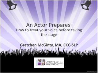 An  Actor Prepares :