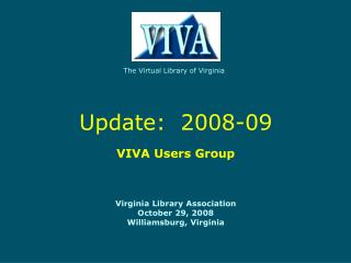 The Virtual Library of Virginia