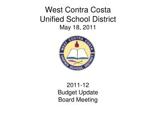 West Contra Costa Unified School District May 18, 2011