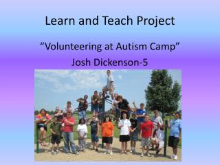 Learn and Teach Project