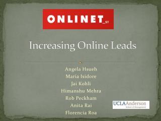 Increasing Online Leads