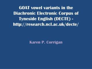 Karen P.  Corrigan