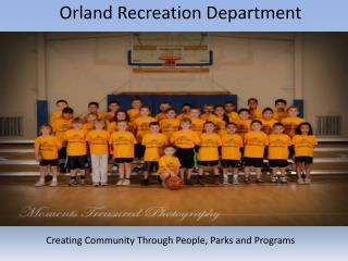 Orland Recreation Department