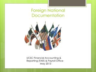 Foreign National Documentation