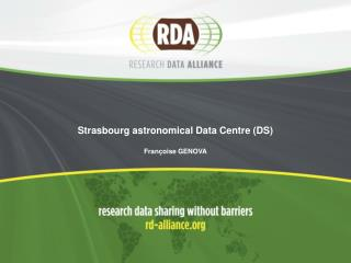 Strasbourg astronomical Data Centre (DS)