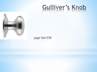 Gulliver's  Knob