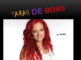 Sarah De Bono