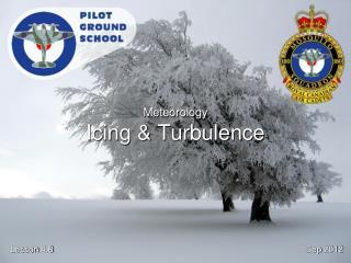 Meteorology Icing & Turbulence