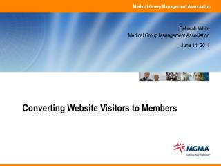 Converting Website Visitors to Members