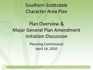 Planning Commission April 14, 2010