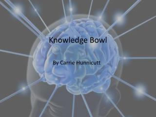 Knowledge  Bowl