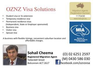 OZNZ Visa Solutions