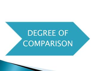 degree+of+comparisons
