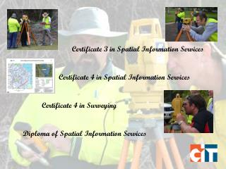 Diploma of Spatial Information Services