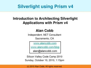 Silverlight using Prism v4