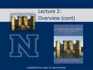 Lecture 2:  Overview ( cont )