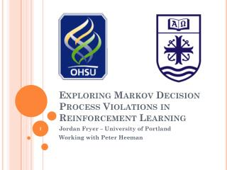 Exploring Markov Decision Process Violations in Reinforcement Learning