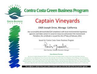 Captain Vineyards