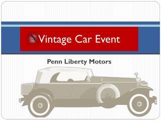Vintage Car Event