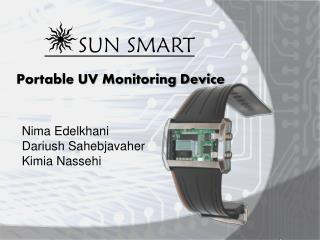 Portable UV Monitoring Device