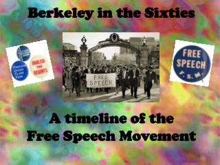 Berkeley in the Sixties A timeline of the  Free Speech Movement