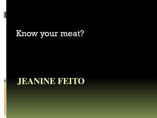 Jeanine  Feito