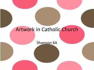 Artwork in Catholic Church