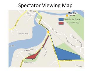 Spectator Viewing Map