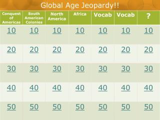 Global Age Jeopardy!!