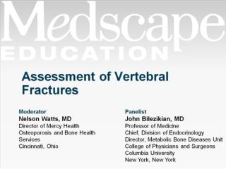 Assessment of Vertebral Fractures