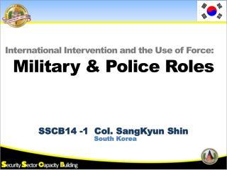 SSCB14 - 1   Col.  SangKyun  Shin