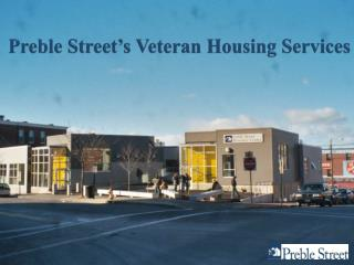 Preble Street's Veteran Housing Services