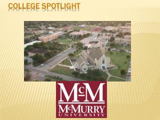 College Spotlight