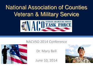 NACVSO 2014 Conference Dr. Mary Bell June 10, 2014