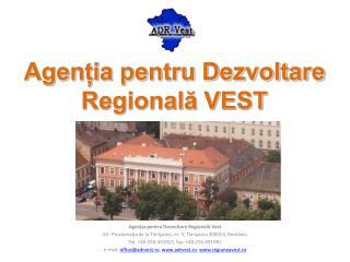 Agenția pentru Dezvoltare Regională VEST