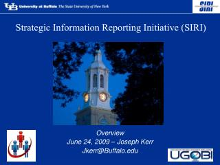 Strategic Information Reporting Initiative SIRI