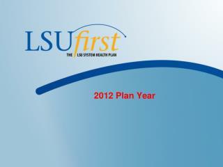 2012 Plan Year