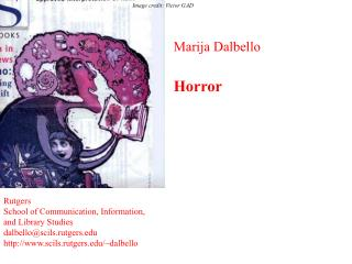 Marija Dalbello   Horror