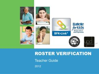 Roster VERIFICATION