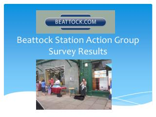 Beattock Station Action Group Survey Results