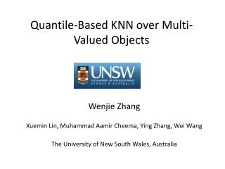 Quantile-Based KNN over Multi-Valued Objects