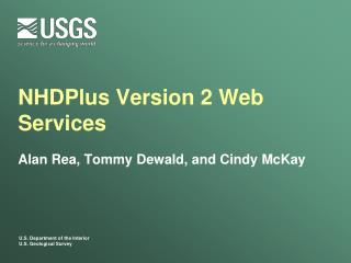 NHDPlus  Version 2 Web Services