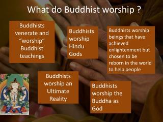 What do Buddhist worship ?