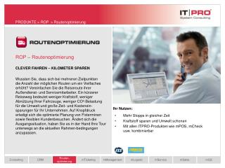 ROP � Routenoptimierung