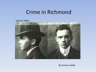 Crime in Richmond