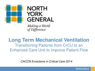 CACCN Evolutions in Critical Care 2014
